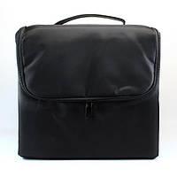 Тканевая сумка для косметики - CaseLife А-65 Черная - A65-BL