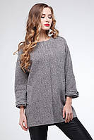 Ультрамодное шерстяное демисезонное пальто oversize Мадейра, разные цвета