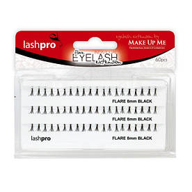 Набор пучковых ресниц 8мм 60 пучков - Make Up Me LashPro Flare Lashes - MF8