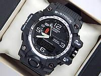 Спортивные часы Casio G-SHOCK GWG-1000 серебристый циферблат