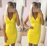 Бандажное платье 5408