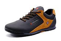 Туфли  Columbia спортивные мужские, натуральная кожа, черные, р. 40 41 42  44 45