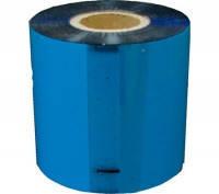Риббон WAX  RF36  105mm x 100m голубий супер премиум