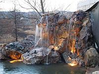 Декоративные водопады, каскады,гроты