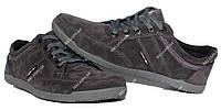 Серые демисезонные кроссовки для мужчин (БЛ-04ср)