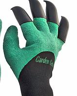 Садовые перчатки с наконечниками (рукавицы) Garden Genie Glovers