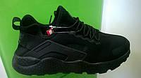 Женские кроссовки Nike Huarache ultra черные