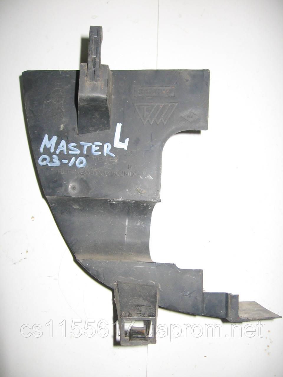 Защита радиатора 8200191480 б/у 2.5 DCi на Renault Master, Opel Movano, Nissan Interstar год 1998-2010
