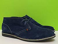 Мужские туфли натуральный замш