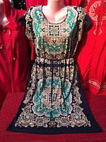 Жіноча нічна сорочка з коротким рукавом