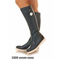 Сапоги женские высоки на молнии из натуральной кожи или замша, на любое время года заказать пошивSev Mar S2209
