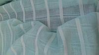 """Льняная ткань """"Мята"""" для штор и гардин (шир. 165 см), фото 1"""