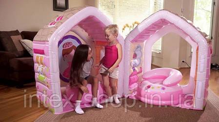 Надувной игровой центр Intex Princess Play House (48635), фото 2