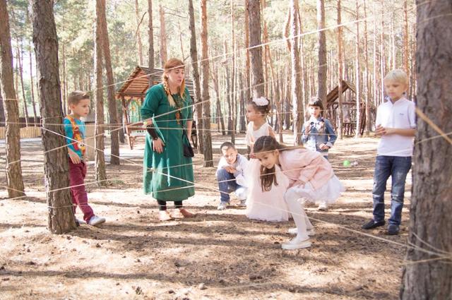 Детский праздник на природе картинка