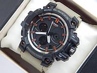 Спортивные часы Casio G-SHOCK mud resist c ремешком цвета хаки