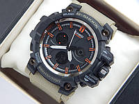 Спортивные часы Casio G-SHOCK mud resist c ремешком цвета хаки, фото 1