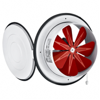Промышленный осевой вентиляторс крышкой BVN BK 300 , Турция