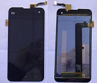 Оригинальный дисплей (модуль) + тачскрин (сенсор) для Xiaomi Mi2A | M2A | 2A (черный цвет)