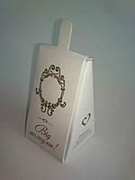 Бонбоньерка свадебная (коробочка для конфет гостям свадьбы)