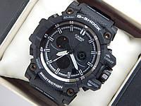 Спортивные часы Casio G-SHOCK mud resist черные с белым