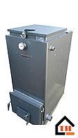 Твердотопливный котел Холмова СТАНДАРТ с вентилятором и блоком управления мощностью 25 кВт