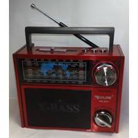 Радиоприемник Golon RX-201 с Led фонариком