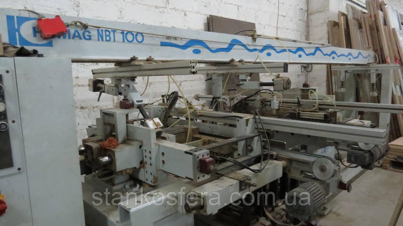 Сверлильно-присадочный Homag Machinery NBT 100/5 станок бу 2000г.