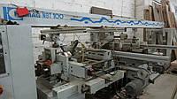 Проходной присадочный станок Homag Machinery NBT100/5 б/у 2000г.Многосторонний проходной сверлильно-присадочны