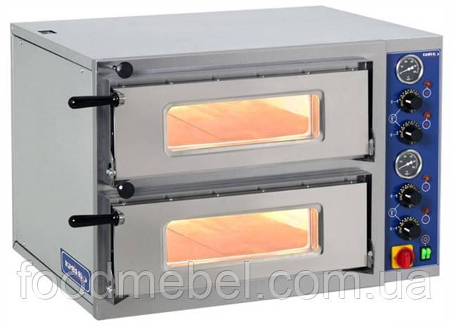Печь для пиццы двухкамерная ПП-2-К-780