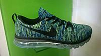 Мужские кроссовки Nike air max flyknit зеленые, размеры с 41 по 46