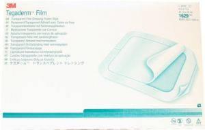 Прозрачная пленочная хирургическая повязка Tegaderm Film (Тегадерм Филм) 20×30 (3М), фото 2