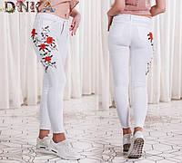 Женские белые джинсы 884601