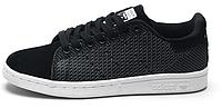 Женские кроссовки Adidas Stan Smith Original Black Адидас Стен Смит черные