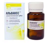 Альванес губка с хлоргексидином и метронидазолом 30шт
