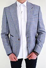 Мужской пиджак серый Fratello