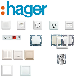 Hager (Германия) - Розетки Выключатели