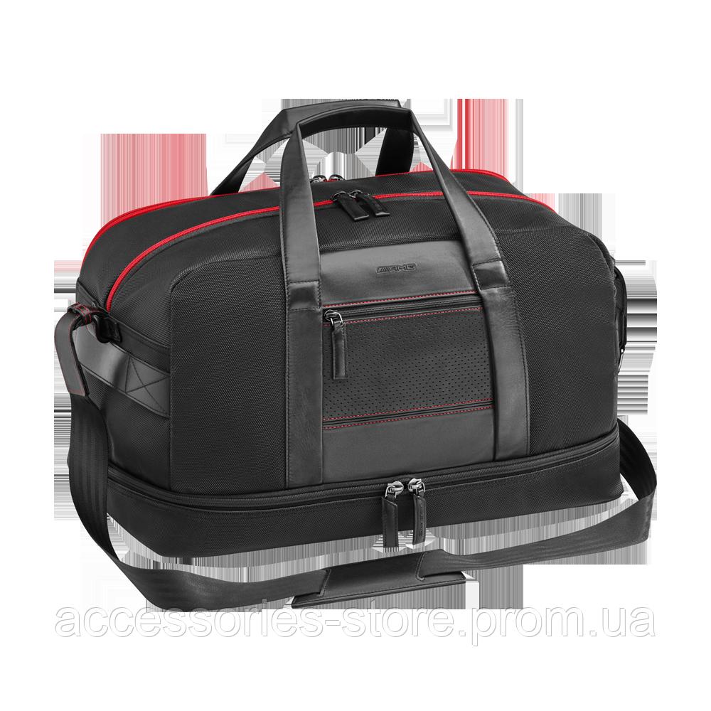 Дорожная сумка Mercedes-Benz Weekend Bag, AMG, Black/Red