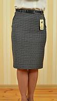 Юбка женская в деловом стиле, строгая узкая длинна ниже колена 1745-790 MURAY&Co Турция, фото 1