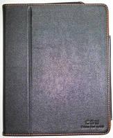 Чехол-подставка Apple iPad 1 черный с оранжевой подкладкой