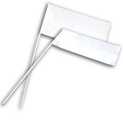 Флажок для сублимации полиэстеровый, 130 х 250 мм