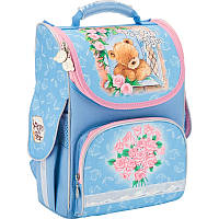 Рюкзак KITE школьный каркасный PO17-501S-Popcorn Bear-1