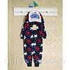 Теплые детские пижамы 86см. Кигуруми мальчикам, 1457мрн.  В наличии 86,92,98 Рост.