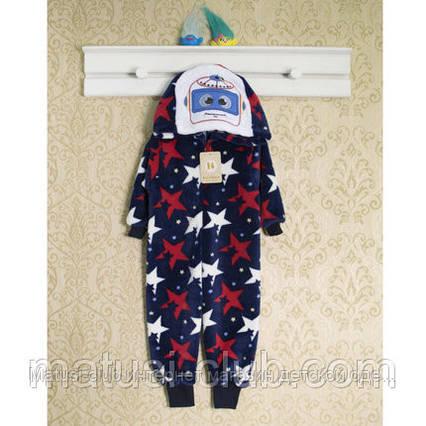 Теплые детские пижамы 86см. Кигуруми мальчикам, 1457мрн.  В наличии 86,92,98 Рост., фото 2