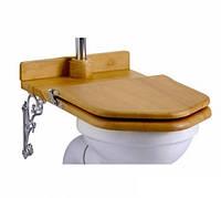 Сиденье-трон для унитаза с низким бачком, золотистый дуб Burlington S19