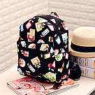Рюкзак с принтом духи., фото 4