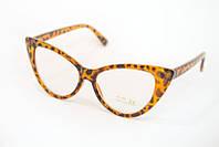 Женские имиджевые очки с прозрачными линзами 1028-15
