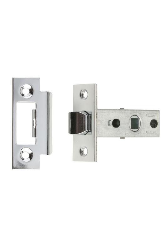 Защелка дверная с регулируемым притвором Gavroche GR 100 cp (хром)