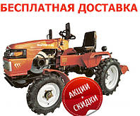 Мототрактор Файтер Т-15 (15л.с. фреза+плуг)