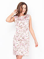 Элегантное стильное женское платье миди из атласа 90177/1