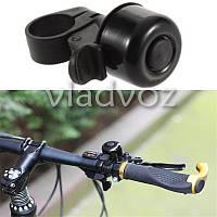 Звонок сигнал для велосипеда черный